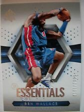 2004-05 SP AUTHENTICS ESSENTIAL # 98 BEN WALLACE , PISTONS !! BOX 46