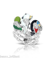 Belle Etoile Aviary Multi Ring NWT Size 6