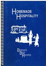 *KNOXVILLE TN 1993 *BEREAN BIBLE CHURCH RECIPES COOK BOOK *HOMEMADE HOSPITALITY