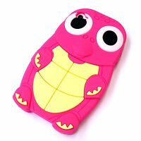 Brand New Cute Cool Turtle Case Cover 3D Design Gel Silicon for fits iPhone 4 4S