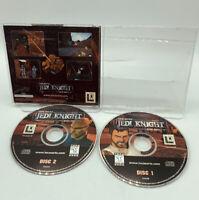 Star Wars: Jedi Knight -- Dark Forces II (PC Game 1997) 2 Disc Set Free Shipping