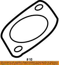 FORD OEM 03-07 F-250 Super Duty Turbocharger Turbo-Inlet Pipe Gasket 3C3Z6N640AA