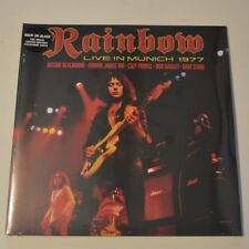 RAINBOW - LIVE IN MUNICH 77 - 2013 UK  2-LP LTD. SPLATTERED VINYL NEW AND SEALED