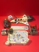 VINTAGE 1986 COLECO STARCOM BUNDLE STARMAX BOMBER SHADOW RAIDER FUEL TANK RAT