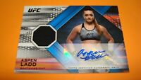 2019 Topps UFC Knockout Auto Relic Card Bantamweight ASPEN LADD Serial # 69/99
