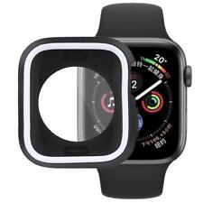 AMZER Silicone Full Coverage Case for Apple Watch Series 4 44mm - Black White