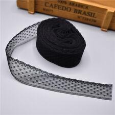 Beautiful! 10 Yard Handicrafts Embroidered Net Lace Trim Ribbon free shipping