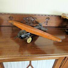 Vintage Wyandotte Pressed Steel Toy Airplane-18 inch Wingspan