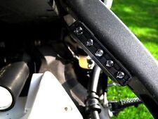 2 Black 5 LED Motorcycle TURN Signals Blinker Rear Peg Front Side Rear Peg Cowl