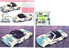 Decals 1/43e Porsche 914-6 Tergal J.Fernandez MC 71
