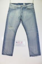 Levis 514 Slim Straight Destroy Code N643 taille.52 W38 L32 jeans D'OCCASSION