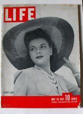 LIFE MAGAZINE May 19 1941 J B Priestley US Uniforms Merman Saroyan British Navy