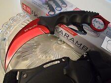 Honshu Red Titanium Dagger Combat Karambit Claw Knife Full Tang UC2786BR CSGO
