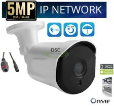 5MP PoE Security IP Camera Onvif P2P, Night Vision Compatible with HikVision NVR