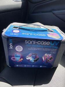 TZUMI IonUV Sani-Case UV LED Sterilizing Portable Travel Bag Sanitizer Bag 10min