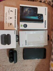Nokia 8.3 5G - 64GB - Polar Night unlocked (Single SIM) with accessory pack.