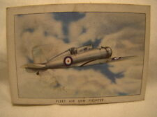 Wings Cigarette Card Series C Number Thirty Six (B)  Blackburn Roc Britain 36