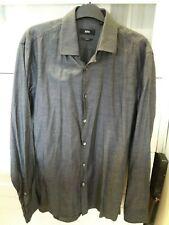 Hugo Boss  Slim Fit Shirt, Size 39. 15.5. Grey.