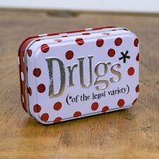 The Bright Side DrugTin of The Legal Variety Keepsake Storage Box Home Gift