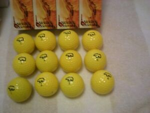 Jack Nicklaus  - 3 x Open winner - Golden Bear boxed yellow Eye-O-Matic balls