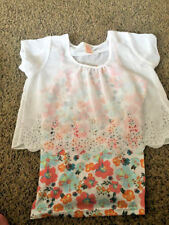 GIRLS FADED GLORY TOP SHIRT 2 PC LOOK SIZE XL 14-16