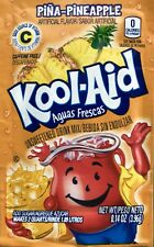 Sale 24 Kool-Aid Pina Pineapple unsweetened Drink Mix Expires 2020