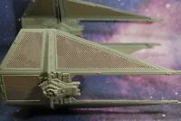 VINTAGE STAR WARS COMPLETE INTERCEPTOR TIE FIGHTER KENNER WORKS!