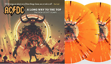 """AC/DC -  A LONG WAY TO THE TOP 2 X 10"""" Splatter Vinyl Limited New & Sealed"""