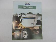 Cub Cadet Super Garden Tractors Sales Brochure 1782 1882 2082 2182 1860 1862