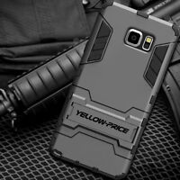 For Samsung Galaxy Note 5 Hybrid Shockproof Armor Hard Bumper Soft Case Cover