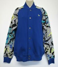 Jacket New Era Bomber Team Apparel Los Angeles Dodgers 11493623 Fry Blue