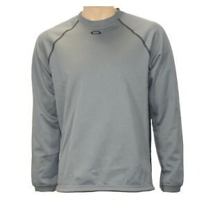 Oakley Herren Sweatshirt grau Outdoor Sweat Fleece Jogging-Fitness Sweater