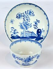 Two Pieces 18th Century English Delft Blue and White in the Chinese Taste