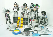 RARE LOT 1997 McFARLANE TOYS KISS PSYCHO CIRCUS ULTRA ACTION FIGURES ACCESSORIES