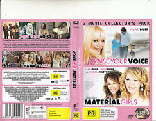 Raise Your Voice-2004/Material Girls-2006-Hilary Duff-[2 Disc]-2-Movie-DVD