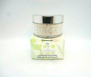 Clinique Superblended Face Powder ~ 05 Transparent Crystal ~  0.8 oz / 24 g BNIB