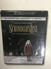 Schindler's List (4K Uhd Blu-ray/Blu-ray, Digital Hd) New