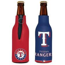 Texas Rangers 12oz Two Sided Bottle Cooler [New] Mlb Can Holder Foam Koozie