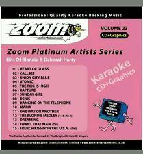 Zoom Karaoke: Zoom Karaoke CD+G - Platinum Artists 23: Blondie & Deborah Harry (