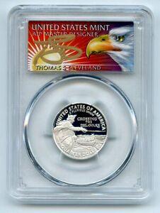 2021 S 25C Silver Crossing the Delaware Quarter PCGS PR70DCAM FS Cleveland Eagle