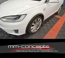 CUP Seitenschweller Ansätze für Tesla Model X Side Skirts Leisten Schweller V1