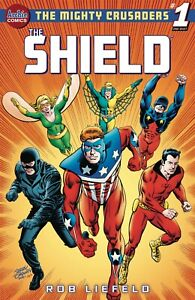MIGHTY CRUSADERS ONE SHOT THE SHIELD CVR E JERRY ORDWAY (ARCHIE COMICS) 6721
