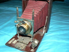 Antique Vintage Conley Camera Film Folding Accordion Box Wollensak Lens NY