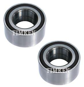 Pair Set of 2 Front Timken Wheel Bearings for Honda CR-V Element 4WD 4Wheel ABS