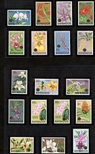 Barbados Scott 396-411 Flowers Mint Never Hinged in Mounts $57.75