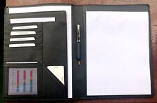 Leder-Schreibmappe A4