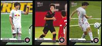 3 Card Rookie Pack CADEN CLARK RC - #34 - #39 - #56 Topps Now MLS Soccer 2020