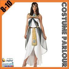 Womens Cleopatra Genie Aladdin Disney Ladies Fancy Dress Costume Size 8 - 10