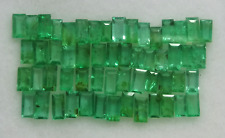 Natural Zambian Emerald Baguette Cut 4 X 2 MM 5.00 Ct Untreated Lot Gemstone