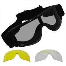 MFH Schutzbrille Sport Outdoor Brille Thunder Ersatzgläser UV-Schutz Kartonbox